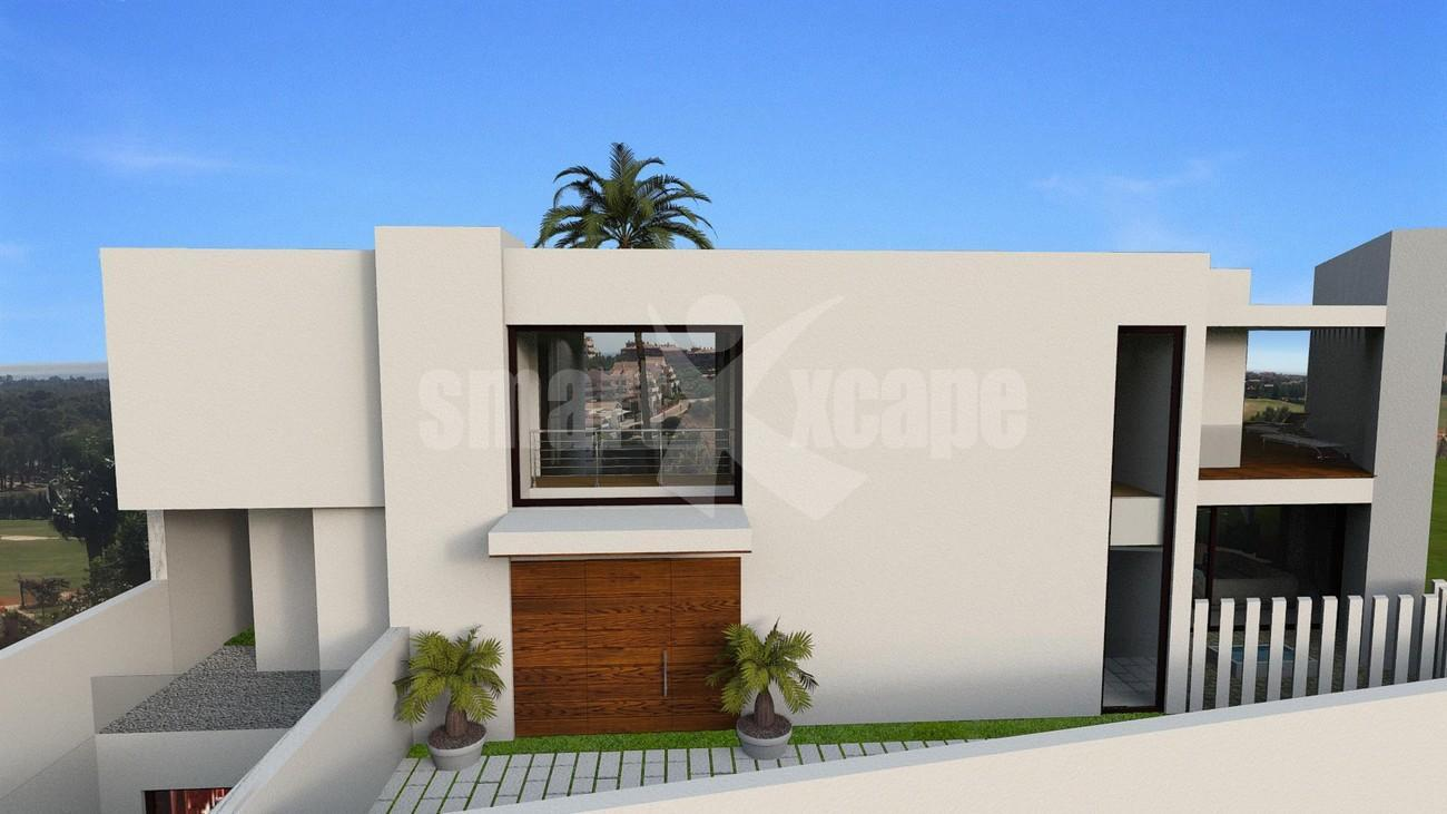 V5501 Contemporary style villa Benahavis 3 (Large)