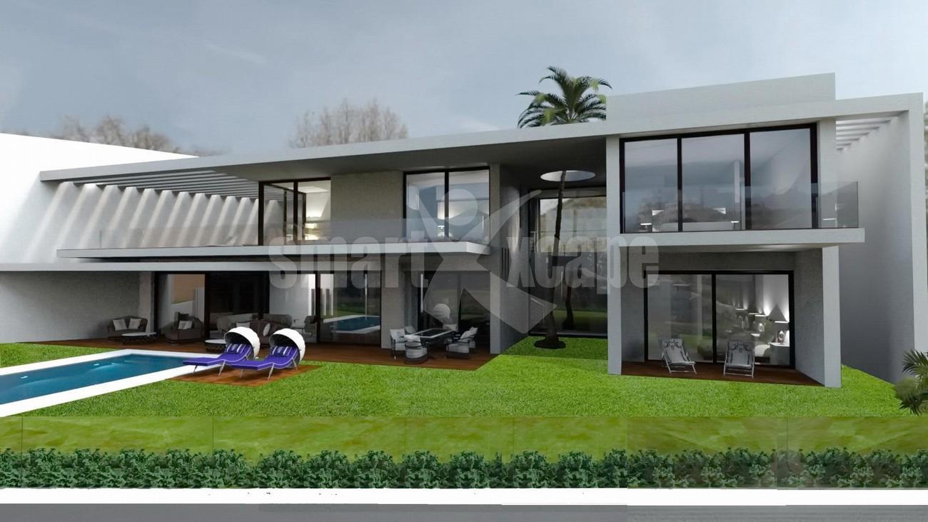 V5501 Contemporary style villa Benahavis 4 (Large)